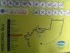 cartina di  uno dei percorsi