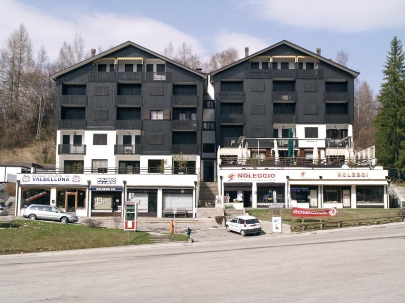 Appartamento di fronte alle piste da sci