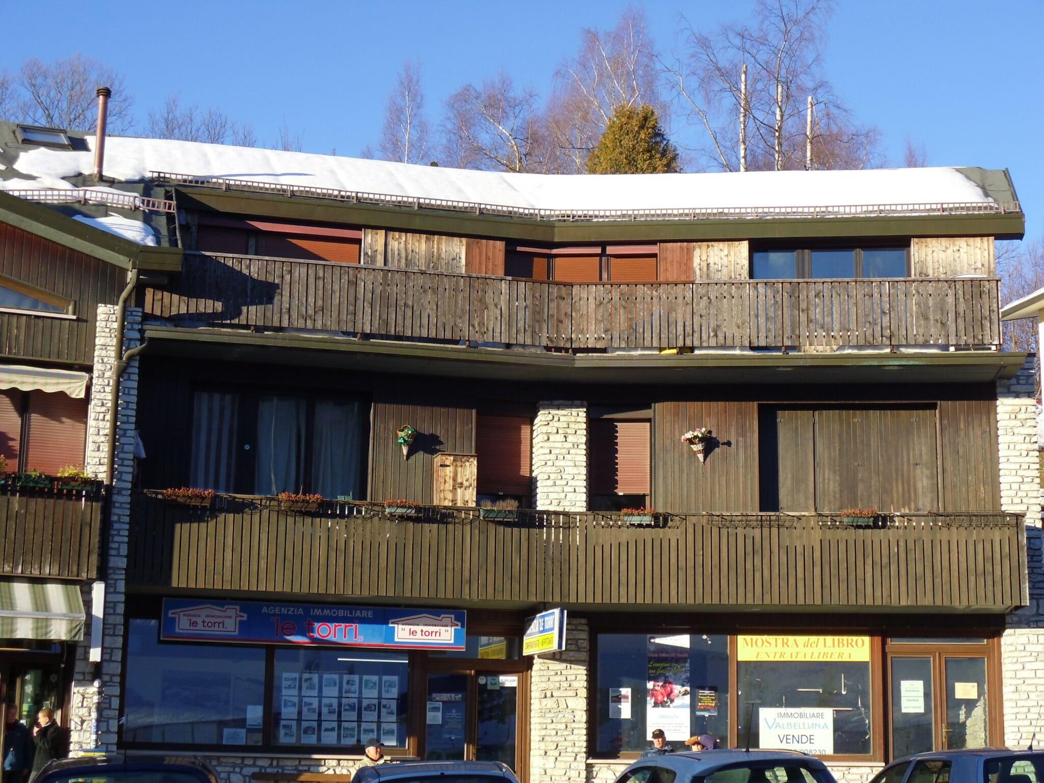 Monolocale in condominio fronte piste da sci